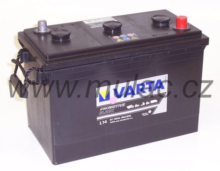 Autobaterie Varta ProMotive BLACK 150030, 6V / 150Ah / 760A č. 1