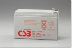 Záložní baterie GPL 1272F2 CSB 12V/7.2Ah č. 1