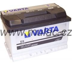 Autobaterie 570144 VARTA BLACK 12V/ 70Ah/640A č. 1