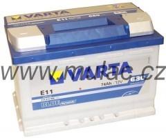 Autobaterie 574012 VARTA BLUE 12V/ 74Ah/680A č. 1
