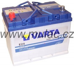 Autobaterie 570413 VARTA BLUE 12V/ 70Ah/630A č. 1