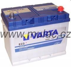 Autobaterie 570412 VARTA BLUE 12V/ 70Ah/630A č. 1