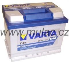 Autobaterie 560408 VARTA BLUE 12V/ 60Ah/540A č. 1