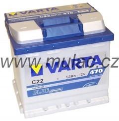 Autobaterie 552400 VARTA BLUE 12V/ 52Ah/470A č. 1
