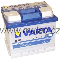 Autobaterie 544402 VARTA BLUE 12V/ 44Ah/440A č. 1