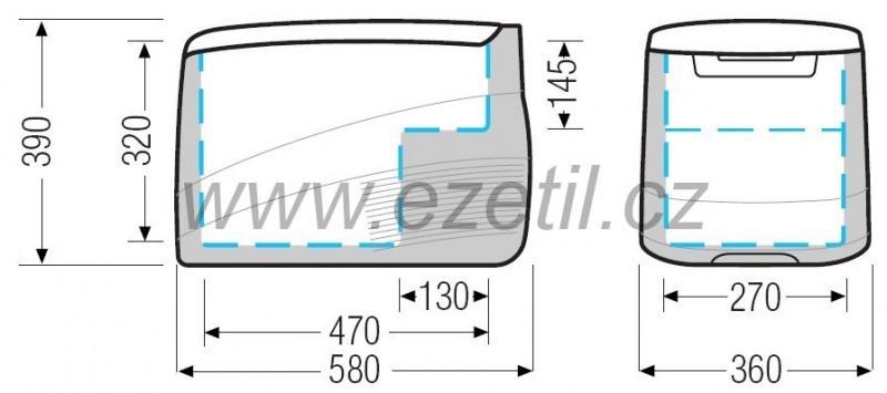 Autolednice EZC35 12/24/230 kompresorová Ezetil č. 3