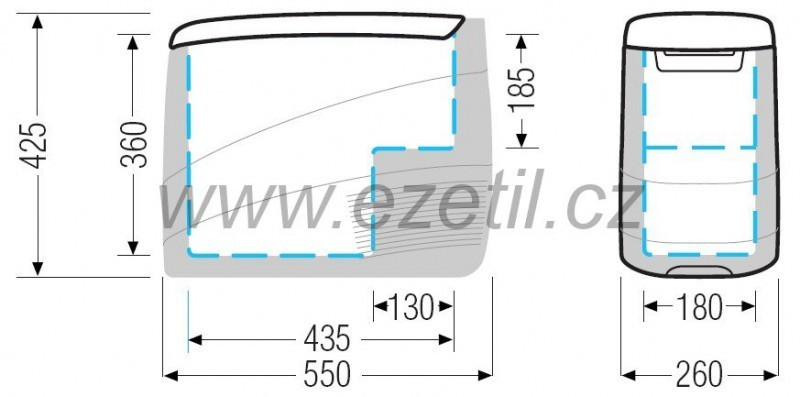 Autolednice EZC25 12/24 kompresorová Ezetil č. 4