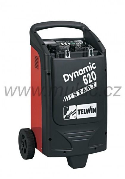 Nabíječ Telwin DYNAMIC 620 s pomocným startem č. 1