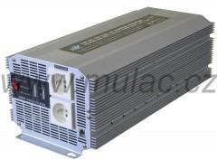 Měnič napětí 12V/230V 2500W HQ měnič napětí DC/AC č. 1