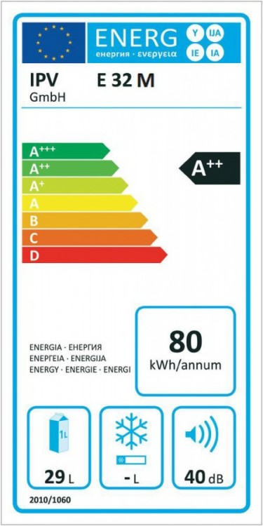 E32M SSBF A++ autochladnička Ezetil 12/230V 29L šedivá + Bluetooth teploměr ZDARMA č.4