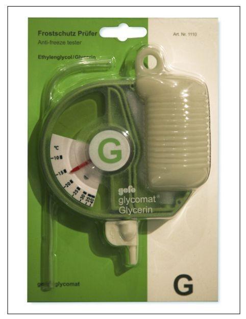 Glycomat 1110 hustoměr chladící kapaliny G13 GEFO č.2