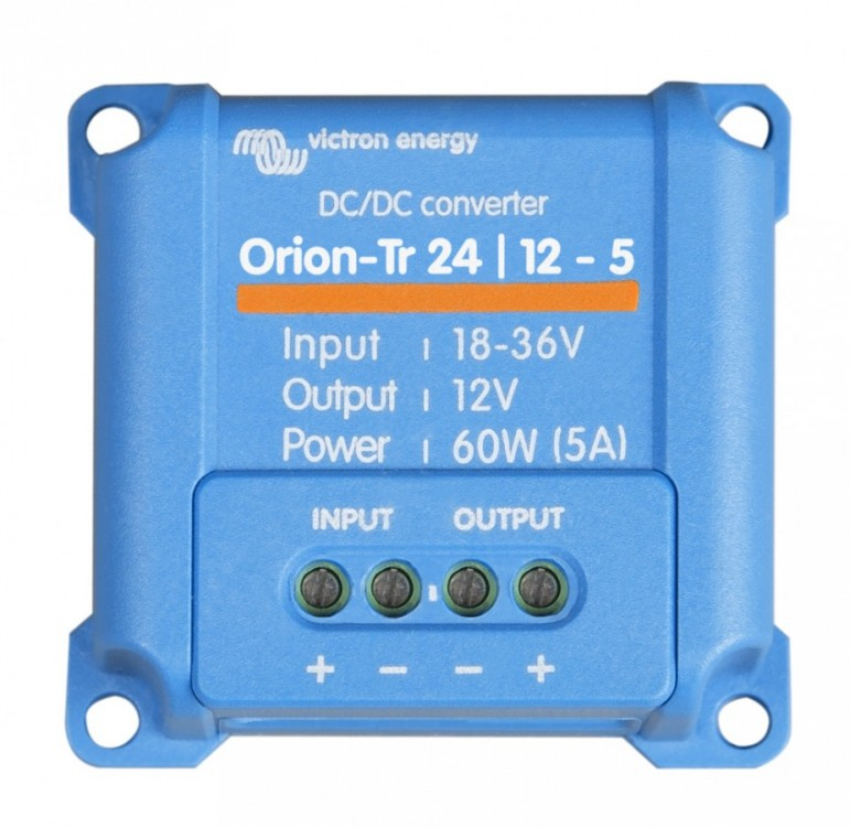 Orion-Tr 24/12-5 (60W) DC/DC měnič 24V na 12V č.1