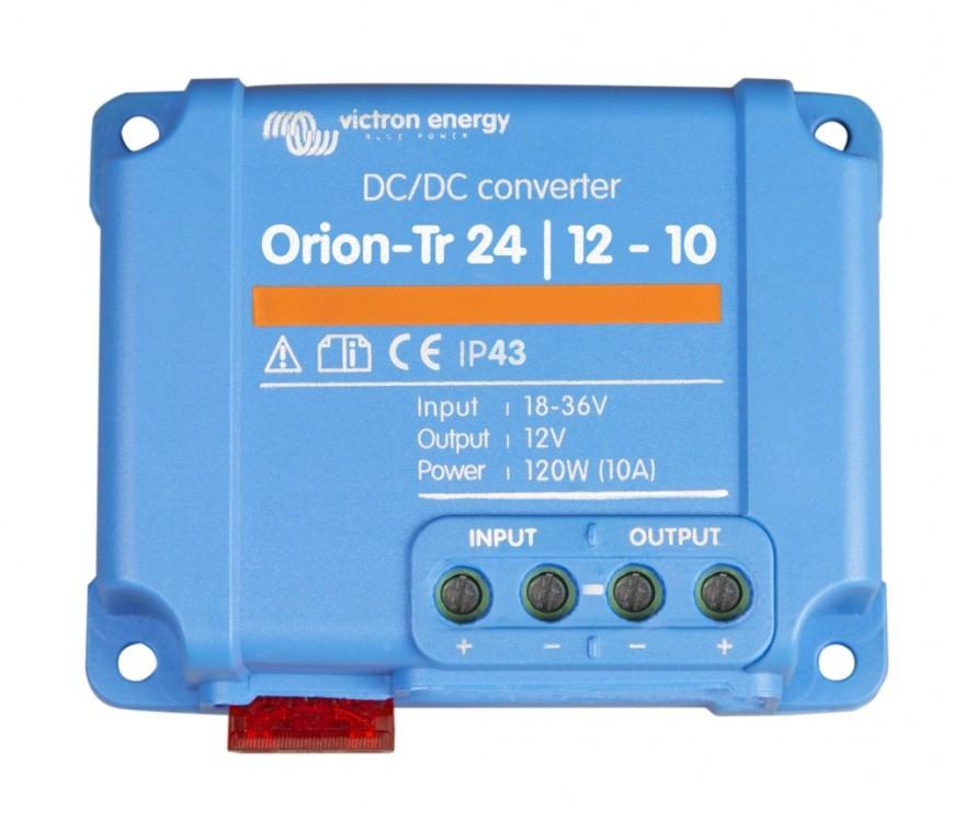 Orion-Tr 24/12-10 (120W) DC/DC měnič neizolovaný 24V na 12V