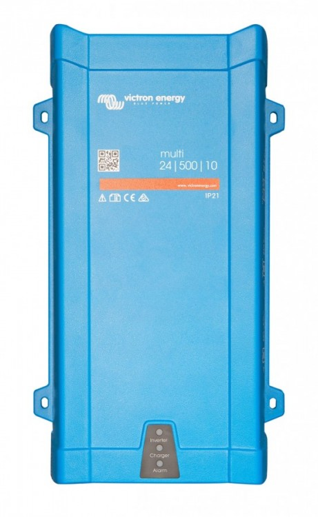Měnič napětí/UPS/nabíječ sínus 24V/230V