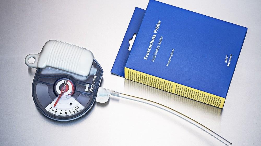glycomat hustoměr na měření mrazuvzdornosti kapalin GEFO 3100 č.3