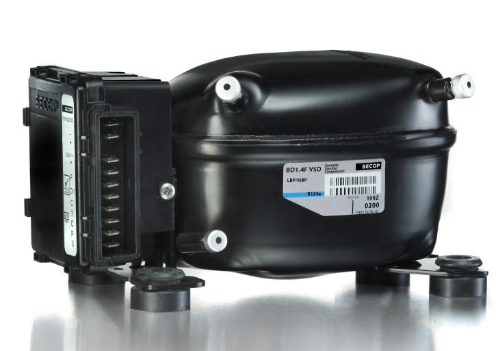 Kompresor SECOP BD1.4F pro autochladničky Indel B