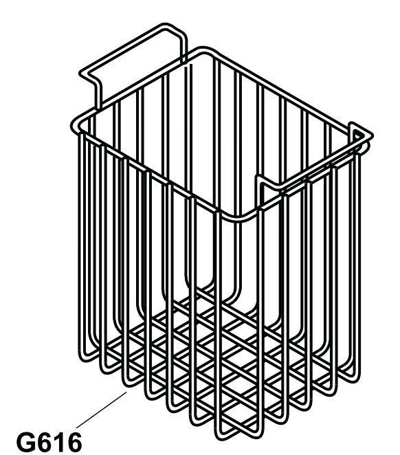 Drátěný koš pro autochladničku Indel B TB41A
