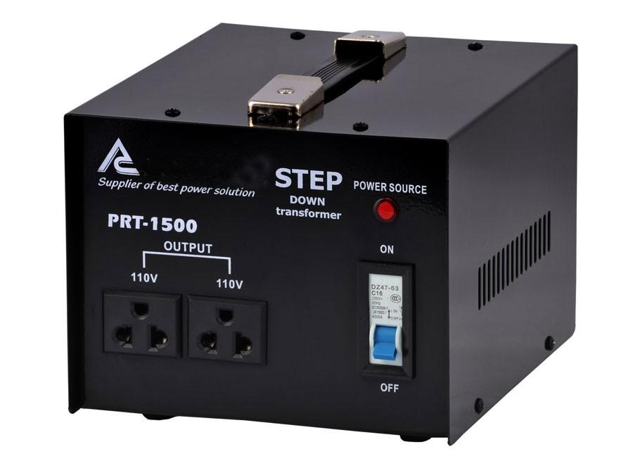 Měnič napětí 230V na 110V 1500W