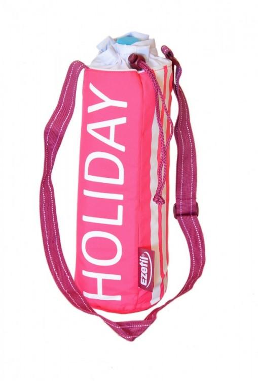Holiday 2 růžová termotaška na pet lahev