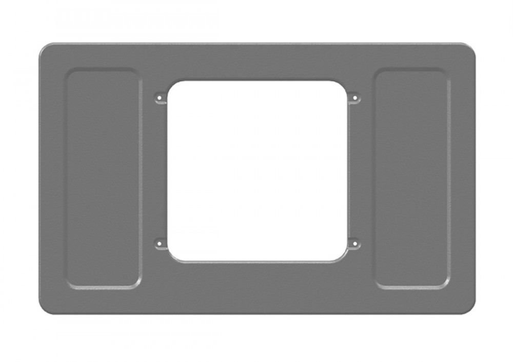 Montážní sada pro uchycení střešní klimatizace Sleeping Well Oblo. Uzpůsobená pro kabinu DAF XF 105 Super Space Cab