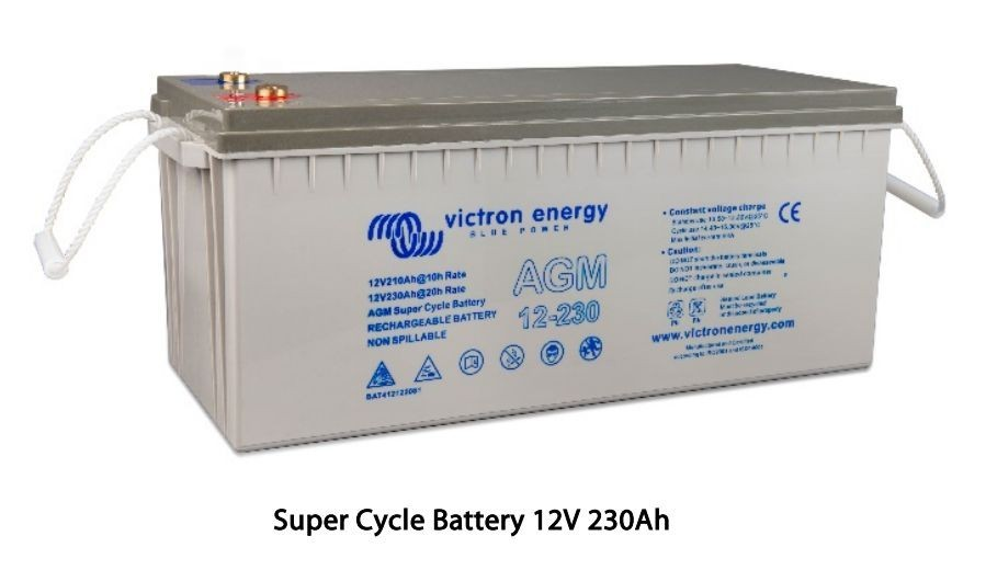 12V 170Ah AGM Super Cycle BAT412117081 č.1