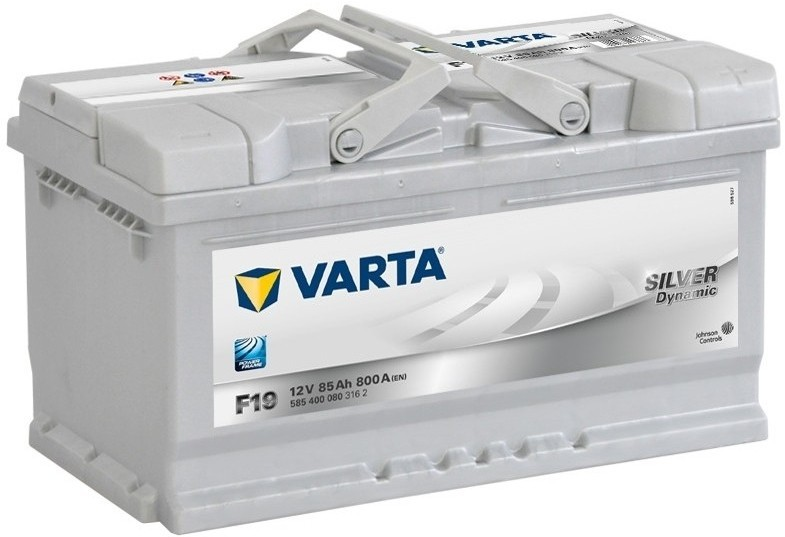 Autobaterie 585400 VARTA SILVER 12V/ 85Ah/800A levá