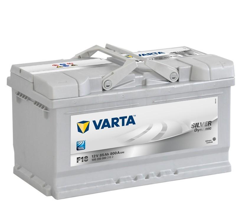 Autobaterie 585200 VARTA SILVER 12V/ 85Ah/800A č. 1