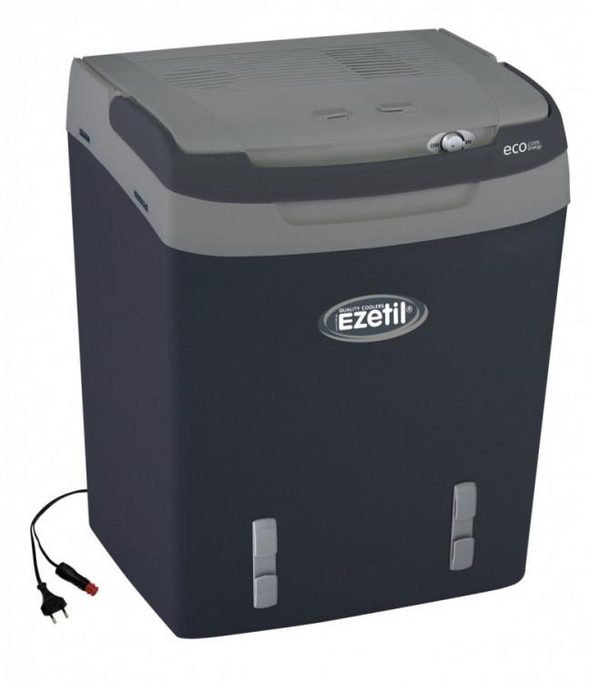 E32 Ezetil šedivá  12/230V autochladnička