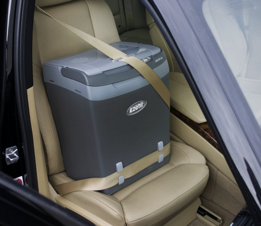 E32M SSBF A++ autochladnička Ezetil 12/230V 29L šedivá + Bluetooth teploměr ZDARMA č.5