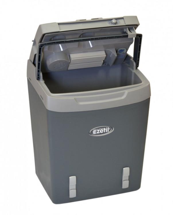 E32M SSBF A++ autochladnička Ezetil 12/230V 29L šedivá + Bluetooth teploměr ZDARMA č.6