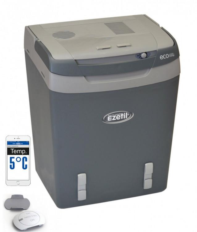 Autochladnička E32, 12/230V s bluetooth teploměrem ZDARMA