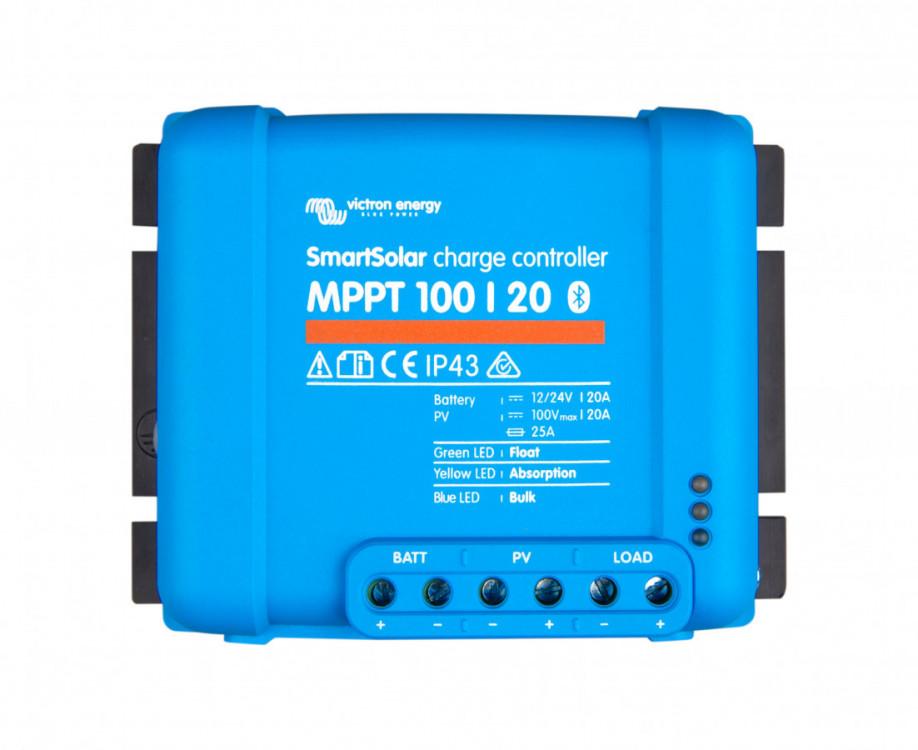 Obrázek: SMART Solar MPPT 100/20, solární regulátor 12/24V 20A 100V s Bluetooth