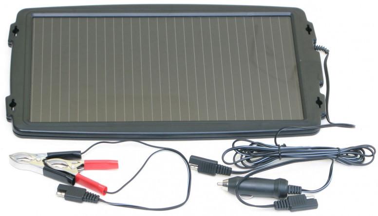 TPS-102 Solární dobíječ 12V autobaterií 2,4Wp