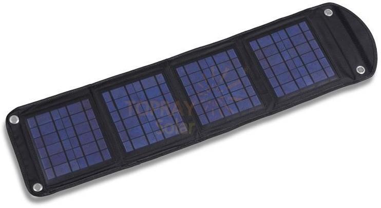 TPS-956 14Wp solární dobíječ 2x USB skládací č.1