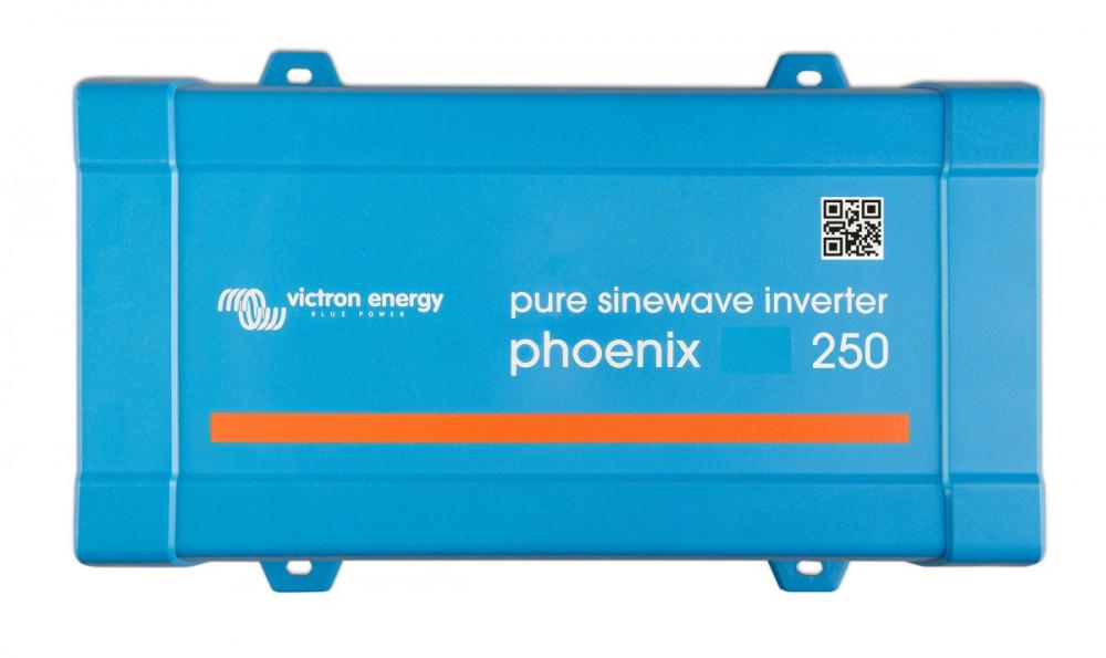 Phoenix 12/250 měnič napětí sínus 250VA 12V na 230V, VE.Direct
