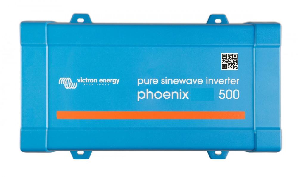 Phoenix 12/500 měnič napětí sínus 500VA 12V na 230V, VE.Direct