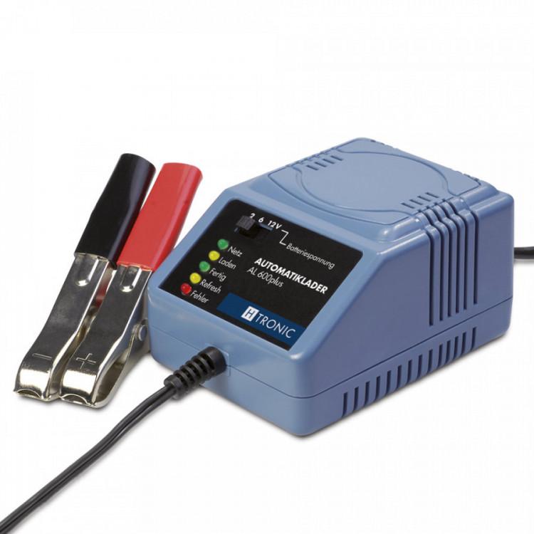 AL 600 plus H-Tronic 0,6A dobíječka pro 2/6/12V baterie