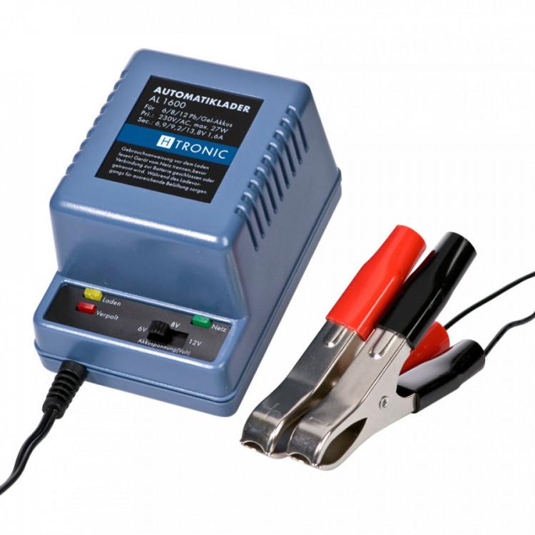 AL 1600 plus H-Tronic 1,6A dobíječka pro 6/8/12V baterie