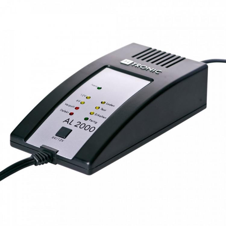 AL 2000 plus H-Tronic 2A dobíječka pro olověné a Li-Ion baterie