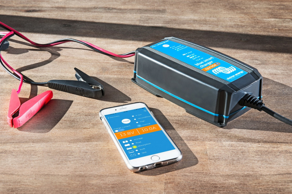 Blue SMART Charger IP65 12V 4A, Pb a Li-ion nabíječ č.3