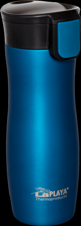 Termohrnek ONE HAND 0,38L LaPLAYA modrozelený 533911