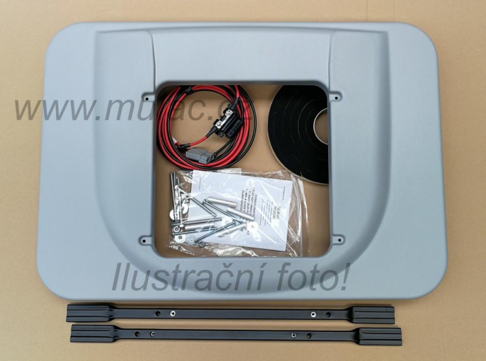 Instalační sada pro Iveco Stralis AS Cube Hi-Way s kovovou deskou, pro AIRCON 1600