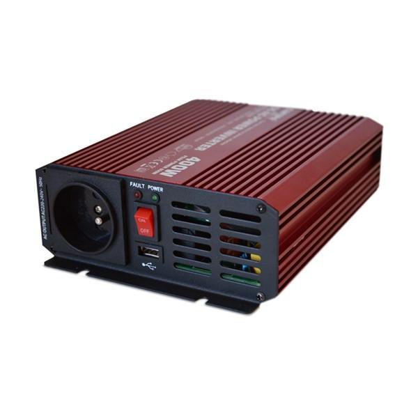 Sínusový měnič 12V na 230V 400W CARSPA č.1