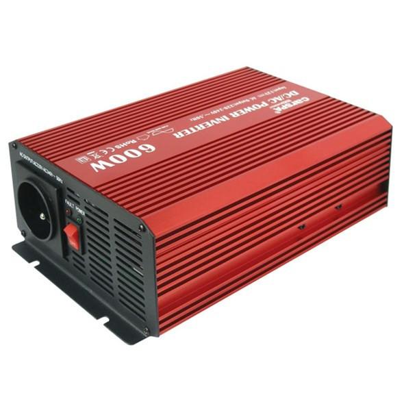 Sínusový měnič 12V na 230V 600W CARSPA