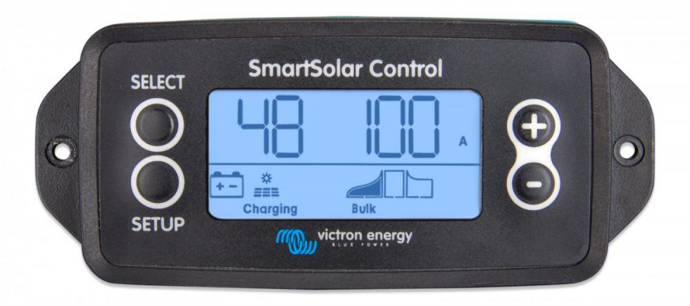SmartSolar displej pro MPPT regulátory