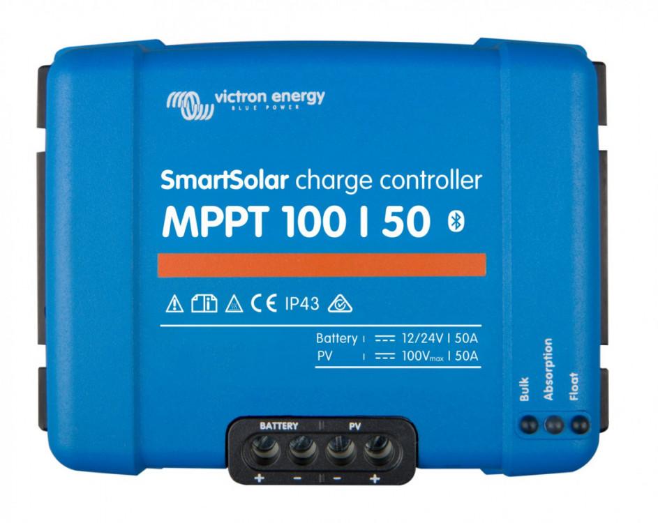 SMART Solar MPPT 100/50, solární regulátor 12/24V 50A 100V s Bluetooth