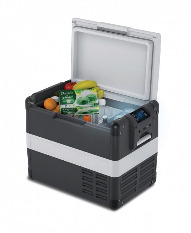 VF65P kompresorová autochladnička VITRIFRIGO 65 litrů, 12/24V + 110-240V otevrena lednice