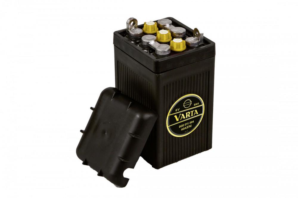 Varta Classic 6 V 8 Ah 40A 008 011 004 G02 0, baterie pro veterány