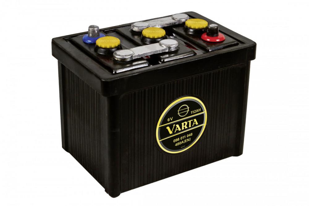 6V 112Ah 480A Varta Classic 098 011 048 G02 0, autobaterie pro veterány