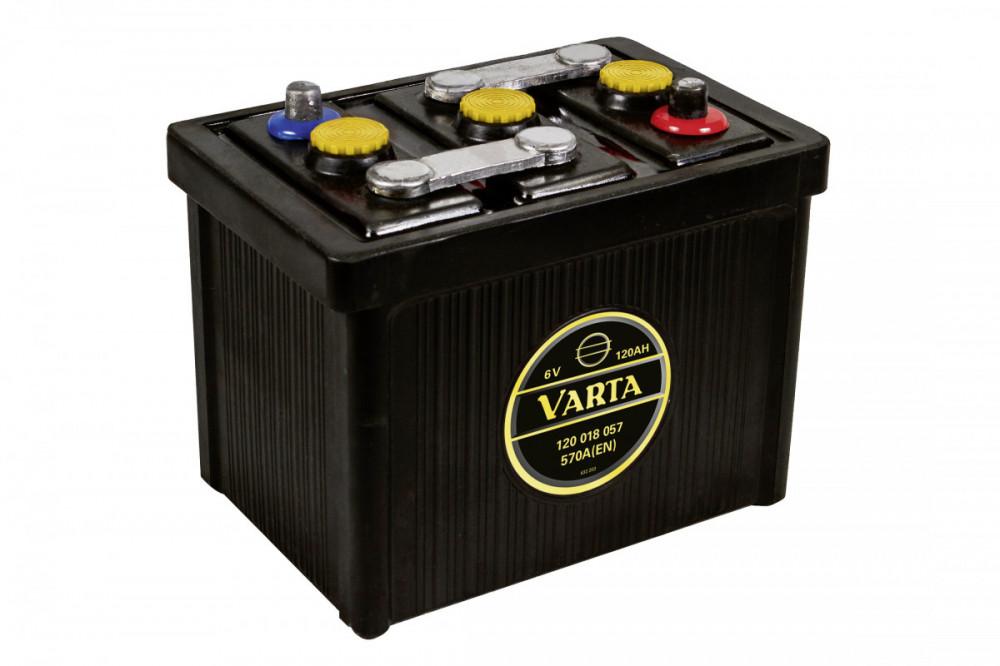 6V 120Ah 570A Varta Classic 112 011 054 G02 0, autobaterie pro veterány
